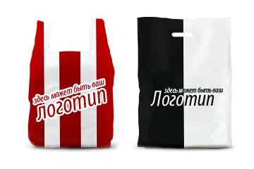Печать логотипа на пакете москва