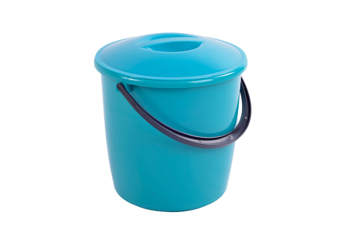 Bucket with lid, 6L
