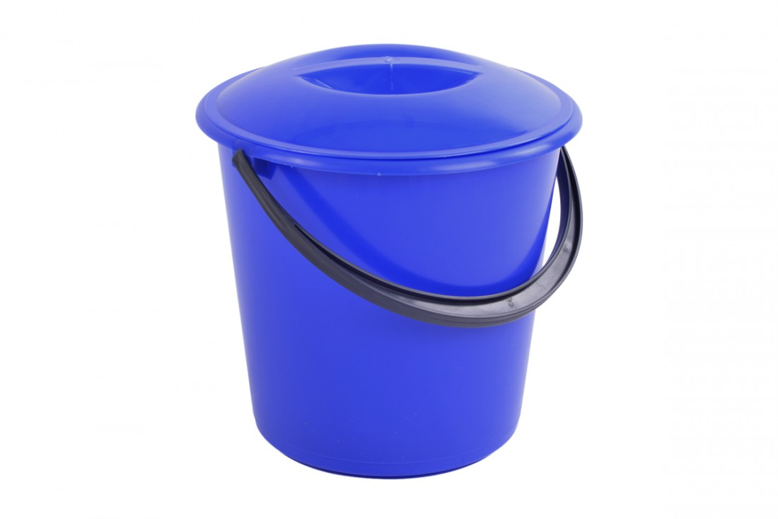 Bucket with lid, 7L