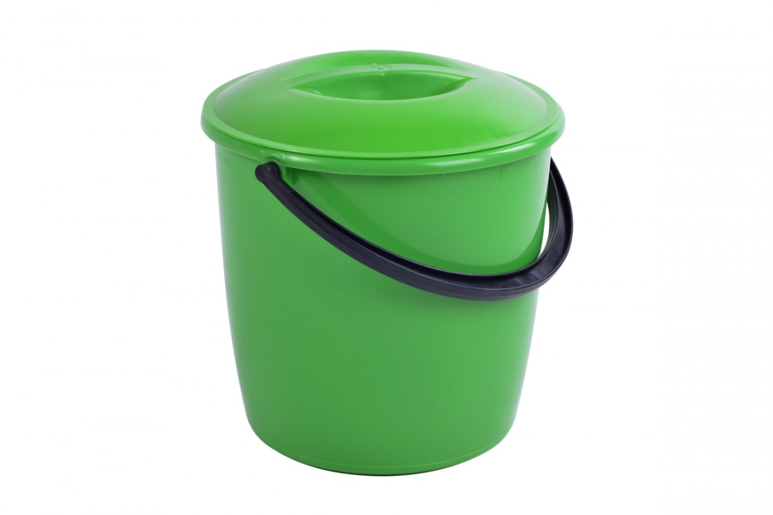 Bucket with lid, 10L modern