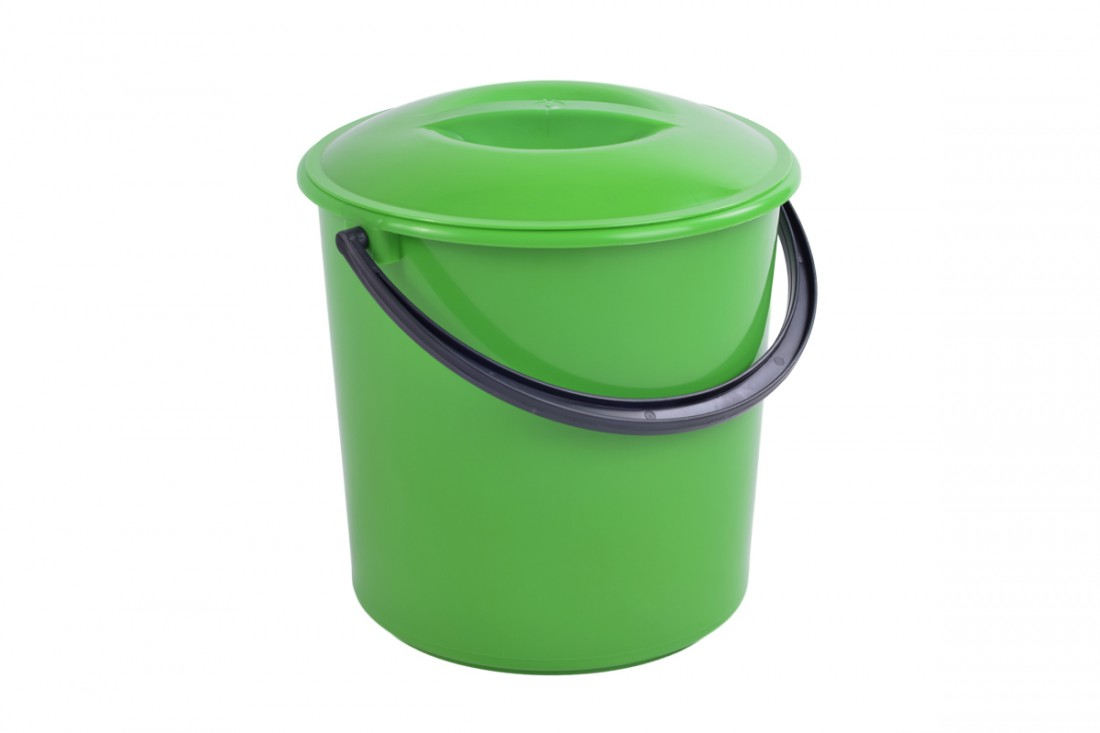Bucket with lid, 10L