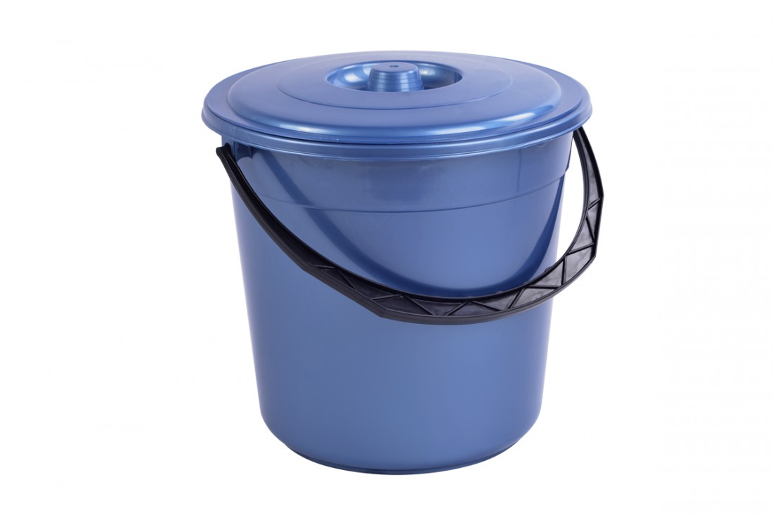 Bucket with lid, 15L